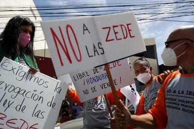 Tela, ciudad turística de Honduras, se suma al rechazo de las Zonas de Desarrollo