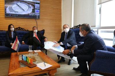 Embajador Antonio Rivas expuso ventajas del Paraguay para atraer inversión de Iquique y Antofagasta