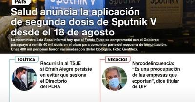 La Nación / LN PM: las noticias más relevantes de la siesta del 29 de julio