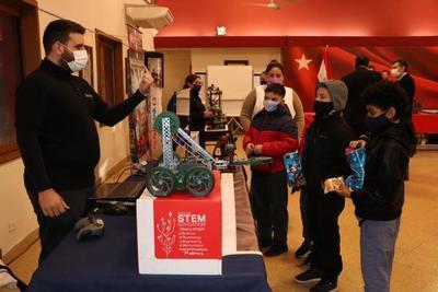 """En ANR habilitan """"Expo Robótica"""", en plan de ampliar capacitación a niños y jóvenes"""