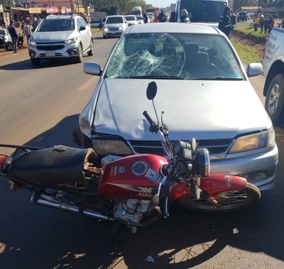 Motociclista muere en accidente de tránsito en Minga Guazú