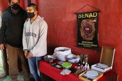 Detienen a joven que vendía marihuana para uso recreativo y medicinal en Guarambaré