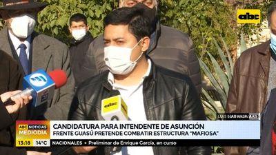 Frente Guasu mantiene su candidatura a la intendencia de Asunción