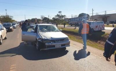 Joven muere luego de ser embestido por atrás por un automóvil