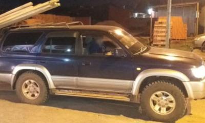 Roban vehículo del Dr. Pedro Rafael Sosa Leiva en Coronel Oviedo