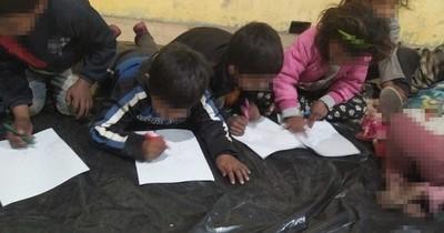 La Nación / Rescataron a niños y adolescentes en situación de calle ante bajas temperaturas