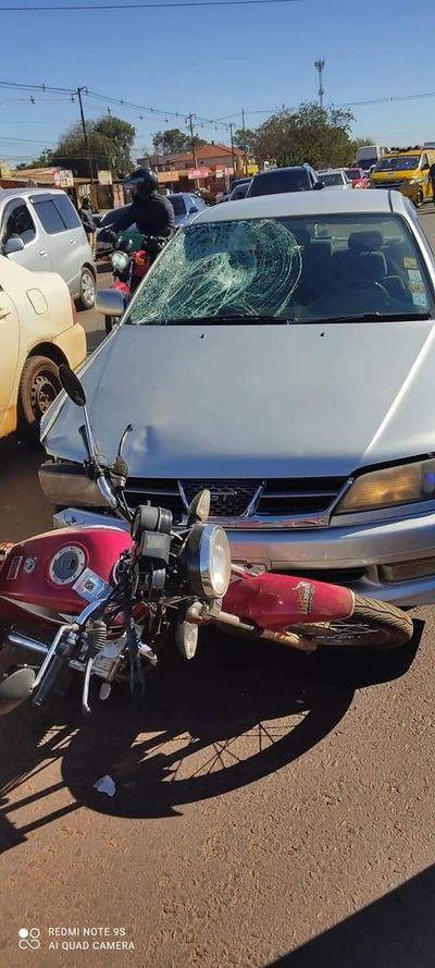 Motociclista muere en accidente sobre Ruta PY02