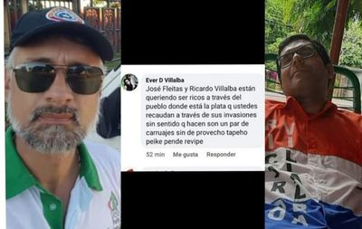 Invasores de propiedad privada ajena exigen devolución de dinero a Aragão y Ricardo Villalba