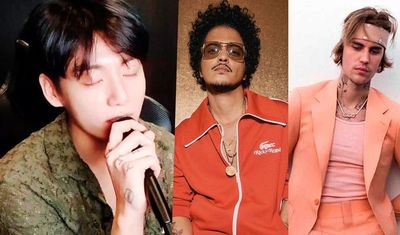 Para las fans enamoradas: Jungkook de BTS cantó en vivo canciones de Bruno Mars y Justin Bieber