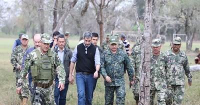 La Nación / Comando de las Fuerzas Militares garantiza lucha incansable contra grupos criminales