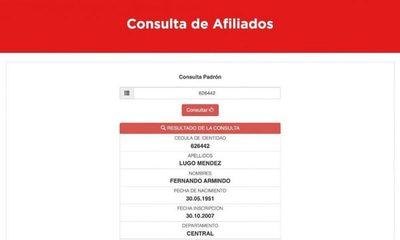 """Indignación en redes: hasta Alegre y Lugo están entre los """"afiliados"""" a la ANR"""