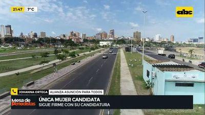 """""""Única mujer candidata a la intendencia de Asunción"""""""