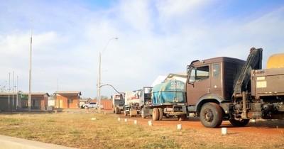 La Nación / Essap inicia la distribución del servicio de agua segura en Chaco