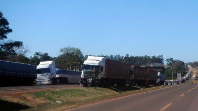 Camioneros exigen sanción de ley o sitiarán la capital
