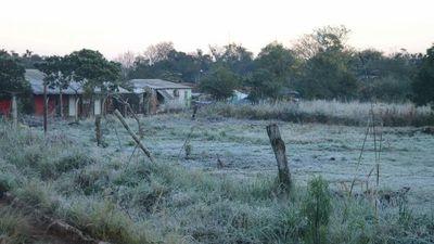 Ñeembucú e Itapúa de nuevo son los más afectados por  las heladas