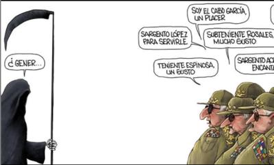 Diaz-Canel, la purga y la parca
