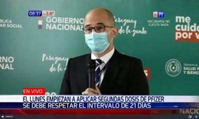 Fin de semana no habrá aplicación de segunda dosis de AstraZeneca