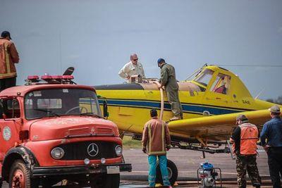 Incendios forestales: no se compraron aviones hidrantes, pero está cubierta la parte operacional, garantiza la SEN