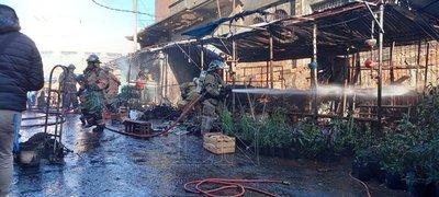 Gobierno asiste familias afectadas por incendio
