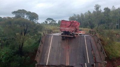 MOPC tiene olvidadas a las víctimas del derrumbe de puente en San Pedro