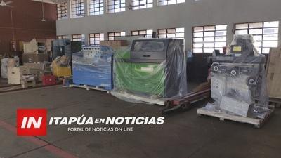 NOTICIA POSITIVA: LLEGAN EQUIPOS PARA PRACTICA DE MECANICA AUTOMOTRIZ AL COLEGIO TÉCNICO.