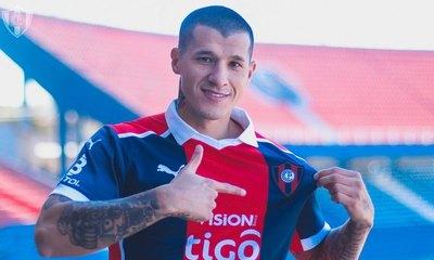 Alan Benítez, presentado oficialmente como nuevo jugador de Cerro