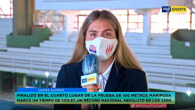Luana Alonso en Primer Turno