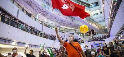 Policía de Hong Kong detiene a un hombre que abucheó el himno chino durante los Juegos Olímpicos