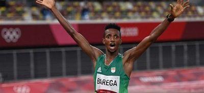 Etíope Selemon Barega logra la primera medalla de oro en atletismo