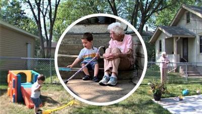 Para la amistad no hay edad: Conocé el tierno vínculo entre una anciana y un niño
