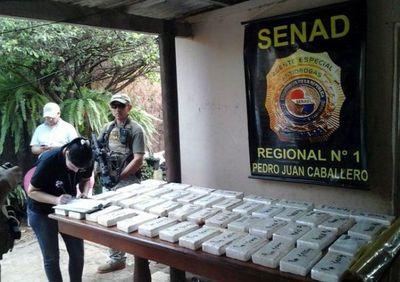 Otorgan nueve años de cárcel para traficante de cocaína de Pedro Juan Caballero