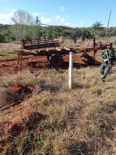 Explosivos utilizados en ataque a militares serían de fabricación casera