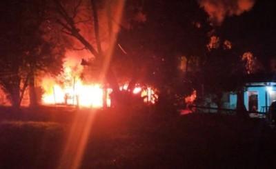 Incendian casa de joven que mató a su vecina tras quema de basura