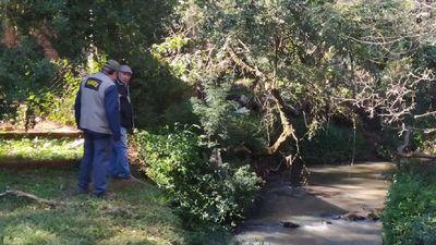 Realizan monitoreo ambiental en la cuenca del Arroyo Potiy de Encarnación