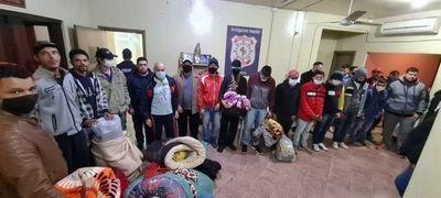 Masivo traslado de reclusos de la cárcel de Pedro Juan a Concepción