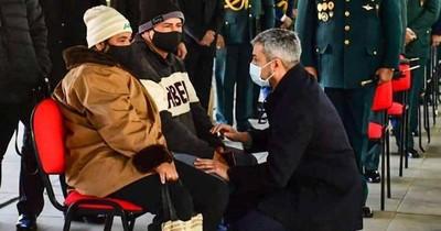 La Nación / Mario Abdo dio sus condolencias