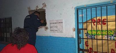 Hurtan objetos de valor de una institución educativa de Barrio Obrero