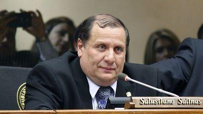 Falleció el diputado Salustiano Salinas