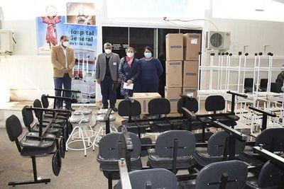 Aparecen los  equipos   comprados de taller mecánico por Consejo Regional