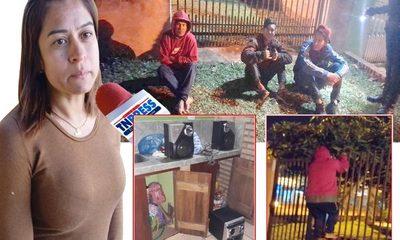 Tres bandidos invaden una casa para robar, son detenidos por vecinos, pero la Policía no acudió – Diario TNPRESS