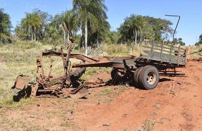 Garrafa de 13 kilos llena de explosivos fue utilizada para matar a los militares