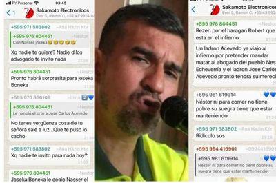 Abogado 360 Néstor Echeverria amenaza y sigue alimentando el odio y rencor en redes sociales