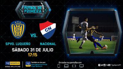Luqueño y Nacional le dan continuidad a la fecha 3 del Clausura