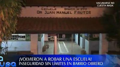 Escuela es asediada por los hurtos a una cuadra de la Comisaría