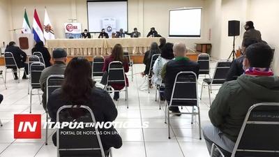 ABORDAN APOYO A COMERCIANTES DESDE EL MINISTERIO DE INDUSTRIA Y COMERCIO.