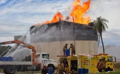 Petropar recibe más de 14.000 millones por incendio en planta