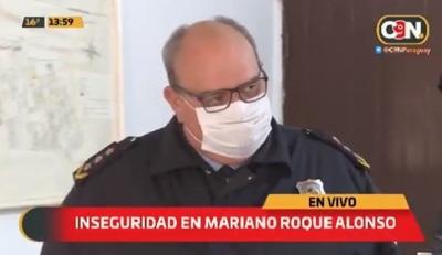 Motoasaltantes roban un automóvil en Mariano Roque Alonso