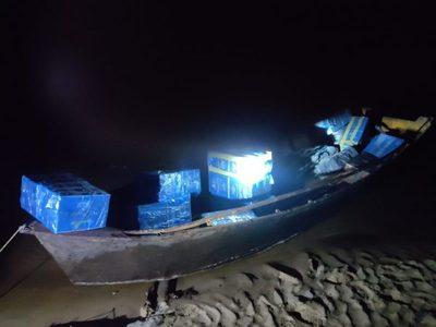 Frenan ingreso ilegal de mercaderías en el Río Paraná