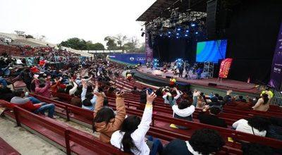 Perú celebró el primer concierto presencial masivo desde el inicio de la pandemia