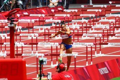 Camilla Pirelli, novena en su serie en los 100 metros con vallas